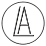 A.L.circle.logo.Black.metalic.transparen
