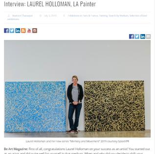 Be Art Magazine - Interview with Laurel