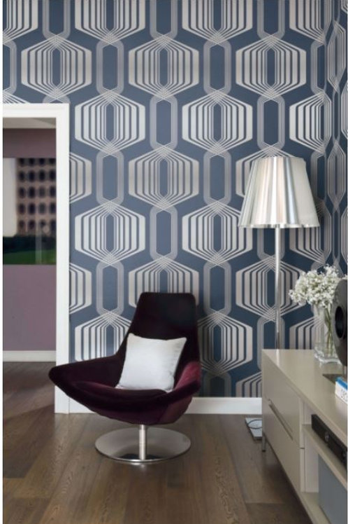 Modern Hexagon Stripe