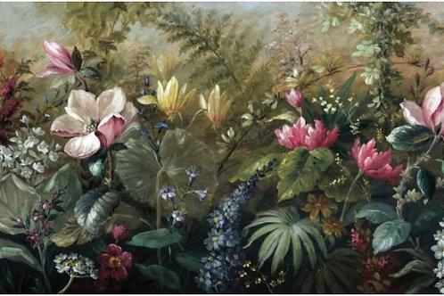 Large Botanical Mural