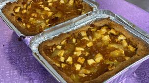 BBQ dessert (Appel - Ananas)
