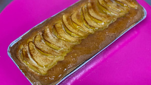 Zweeds appel-amandelcaketaartje