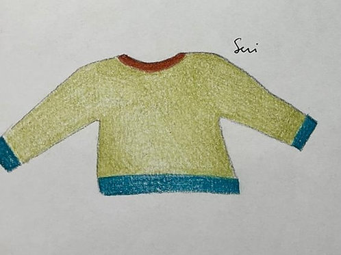 Alpaca Green Sweater