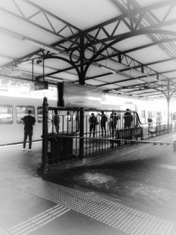 Glenferrie Train Station