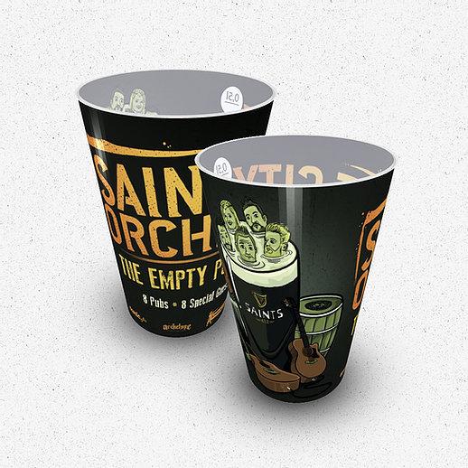 """Becher """"The Empty Bar Pub"""""""