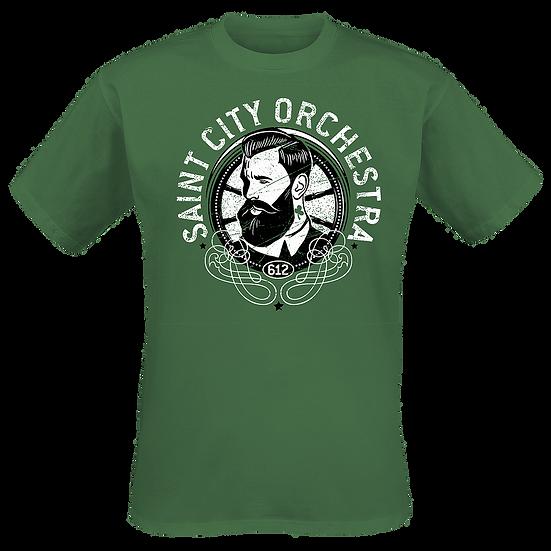 Beard guy - green