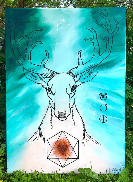 "Soul portrait ""Protector from Lyra, Vega"""