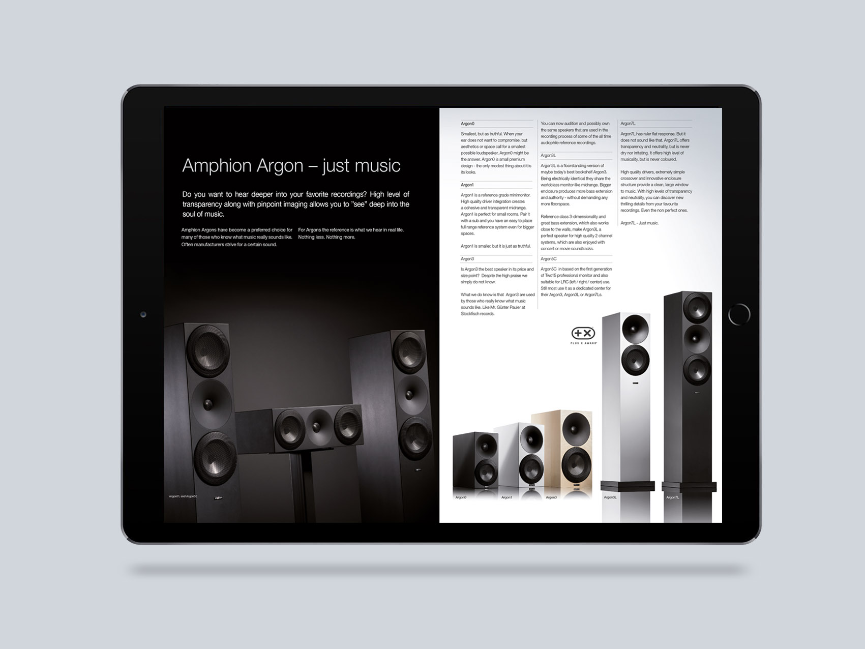 Amphion: visuaalinen ilme