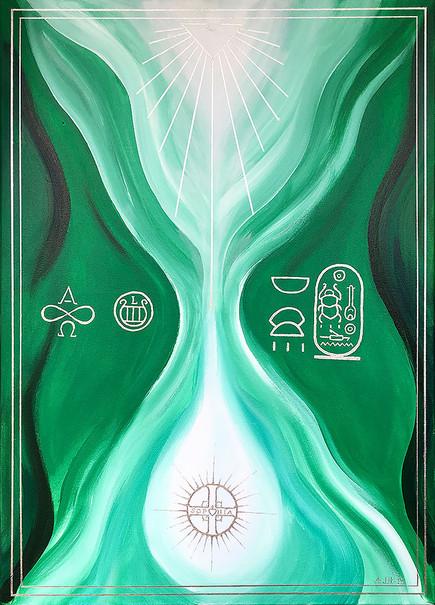 "Sielunkuva ""Lyran healer"""