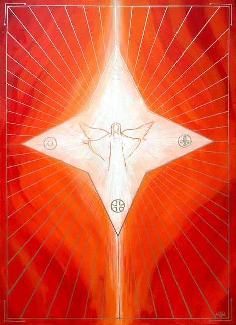 Sielunkuva Tulinen Marian enkeli