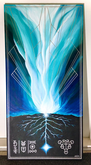 "Sielunkuva ""Guardian of the Gaia"""