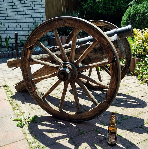 Antique Breech loading canon kanone