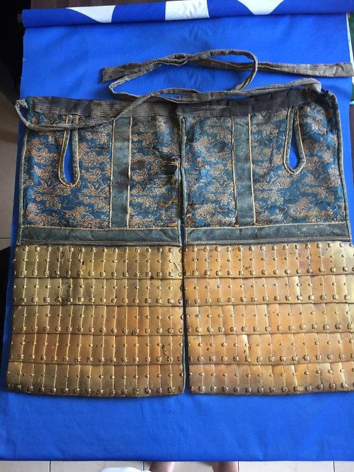Haidate Samurai armour part Sangu