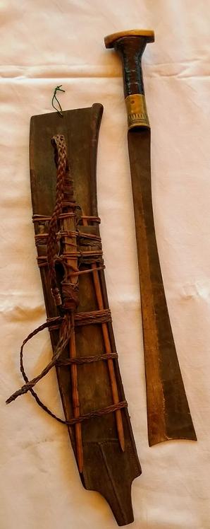 Antique Naga Kachin Dao sword