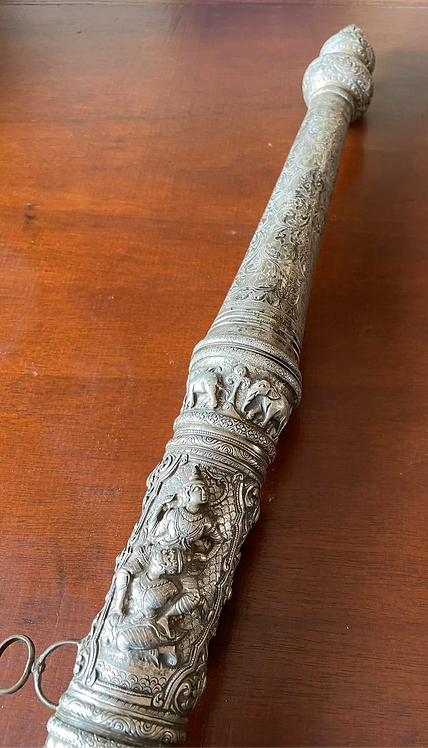 Silver Shan Dha sword