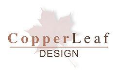 copper leaf design