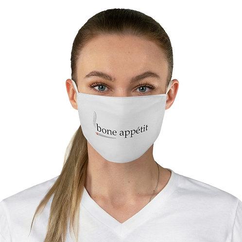 Bone Appetit Fabric Face Mask