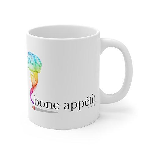 Bone Appetit Rainbow Mug
