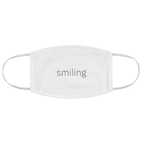 Smiling Fabric Face Mask