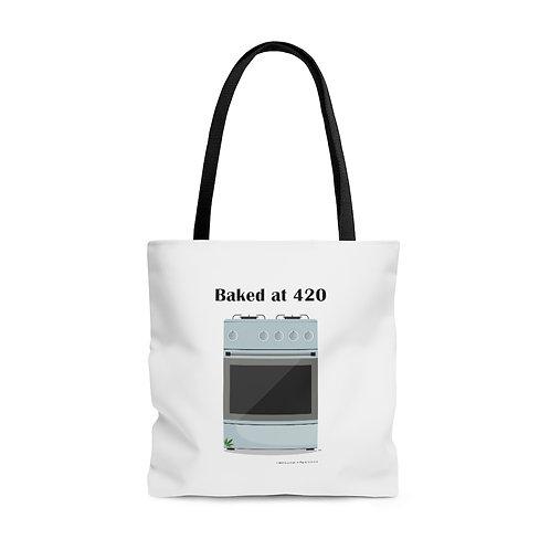 Baked at 420 Tote Bag