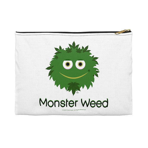 bag with funny monsters
