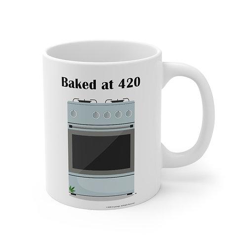 Baked at 420 Mug