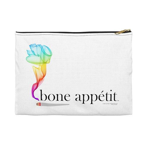 Bone Appetit Rainbow Pouch