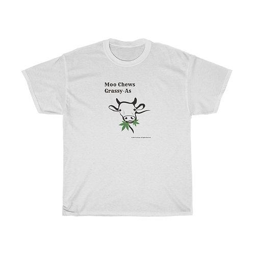 Moo Chews Grassy-As T-shirt