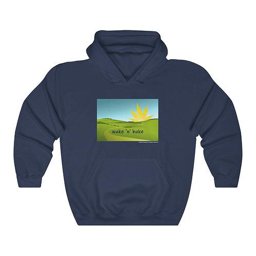 Wake and Bake Hooded Sweatshirt