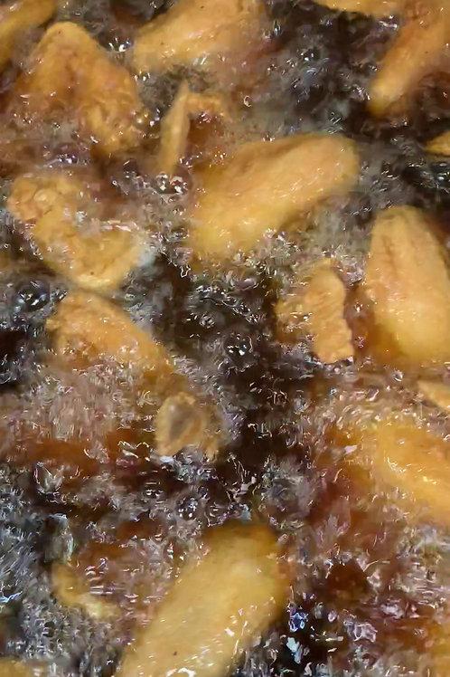 Stan famous golden fry chicken wings