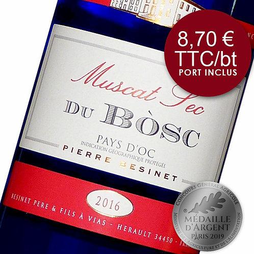Muscat Sec du Bosc - Blanc 2018 - Carton 6 bouteilles