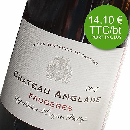 Château Anglade Classique - Red 2017 - Carton 6 bouteilles