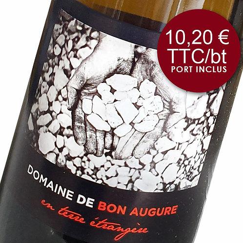 Domaine de bon augure - en terre étrangère - Blanc 2018 - Carton 6 bouteilles