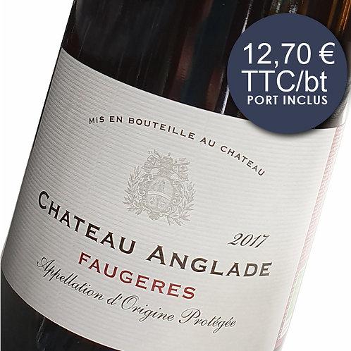 Château Anglade Classique - Rouge 2017 - Carton 6 bouteilles