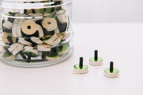 煙のでないお灸(緑・ソフト)14個の複製