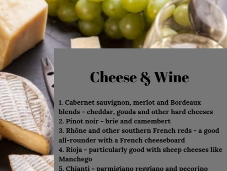 Do you want some cheese with that wine?