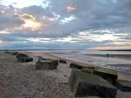Beach Walk Along Cresswell