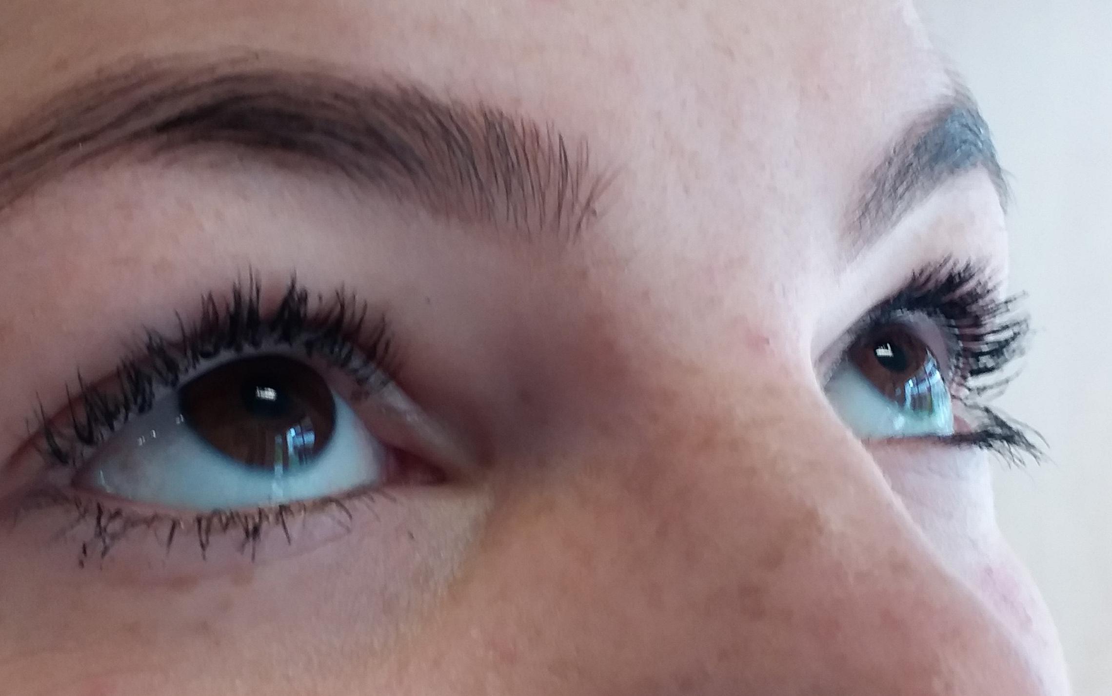 Résultat Mascara Semi-Permanent