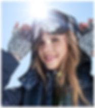 Maquillée au Ski et à la Neige - Mascara Semi-Permanent - By zecosmetic.com