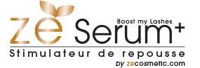 Logo ZESerum+ - Stimulateur de repousse - By ZECosmetic.com