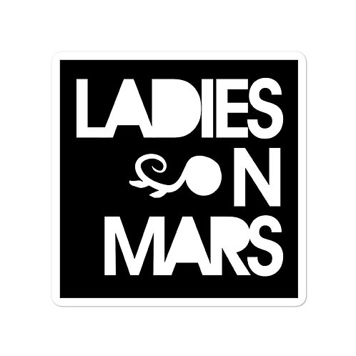 Ladies On Mars Stickers