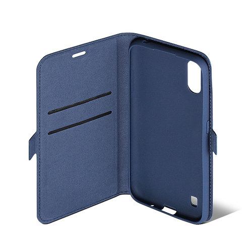 Чехол - книжка AZNS с замком для Samsung A01 2020 (SM-А015F) (black)