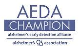 Alzheimer's Association AEDA Champion