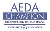 Alzheimer's Association AEDA Champion