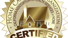 Affinia Home Care Receives CAHSAH Certification
