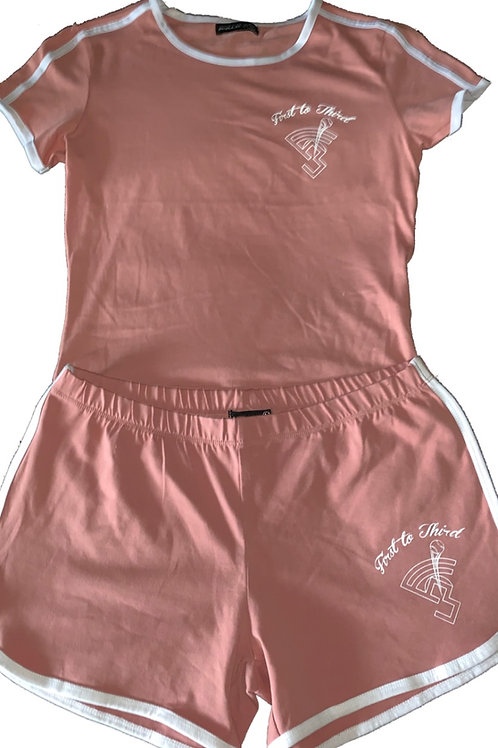 Women's shorts and shirt set