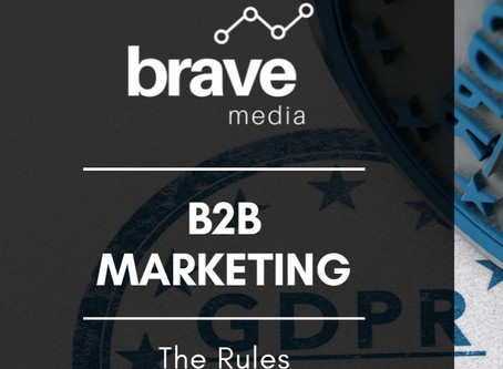 GDPR and B2B Marketing