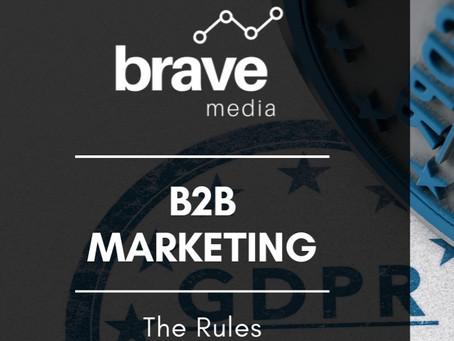 GDPR, ePrivacy Regulations and B2B Marketing