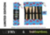 Hong kong themed, eco-freindly, resusable bakbamboo 6PC cutlery set