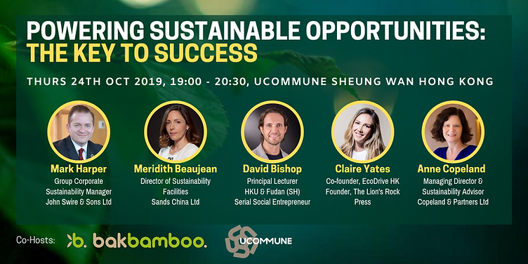 Powering Sustainable Opportunities: The Key to Success Event BAKBAMBOO